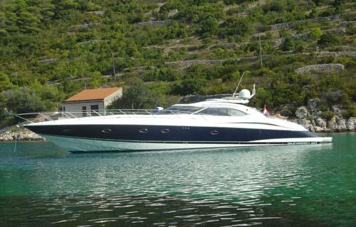 Sunseeker Predator 60 - Euro agent, motor yacht Croatia - Charter & Broker
